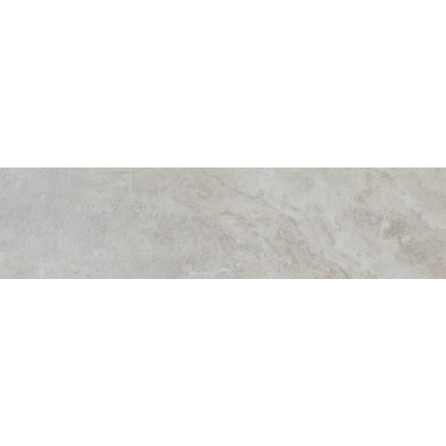 FLOORS 2000 Marmaris White Porcelain Bullnose Tile (Common: 3-in x 18-in; Actual: 3-in x 17.72-in)