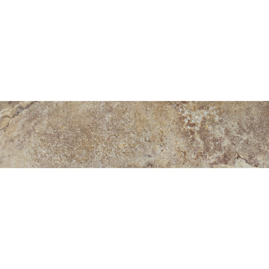 FLOORS 2000 Marmaris Gold Porcelain Bullnose Tile (Common: 3-in x 18-in; Actual: 3-in x 17.72-in)
