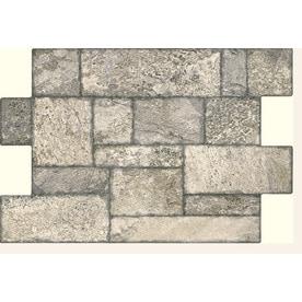 FLOORS 2000 Fiyord 6-Pack Gray 16-in x 24-in Porcelain Cobblestone  sc 1 st  Loweu0027s & Floor Tile at Lowes.com