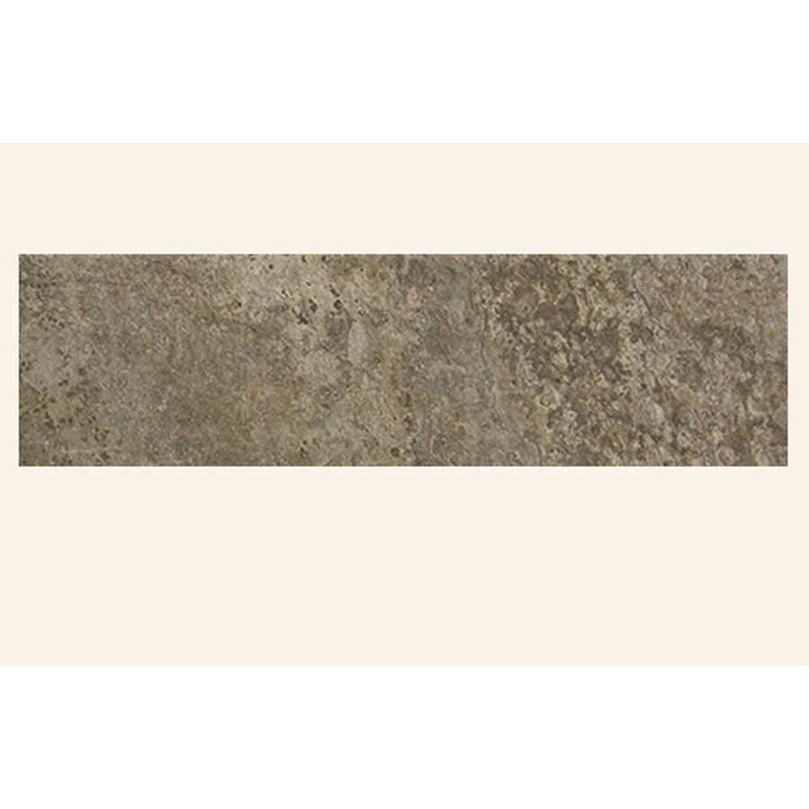 FLOORS 2000 Rajasthan Black Porcelain Bullnose Tile (Common: 3-in x 18-in; Actual: 3-in x 17.72-in)