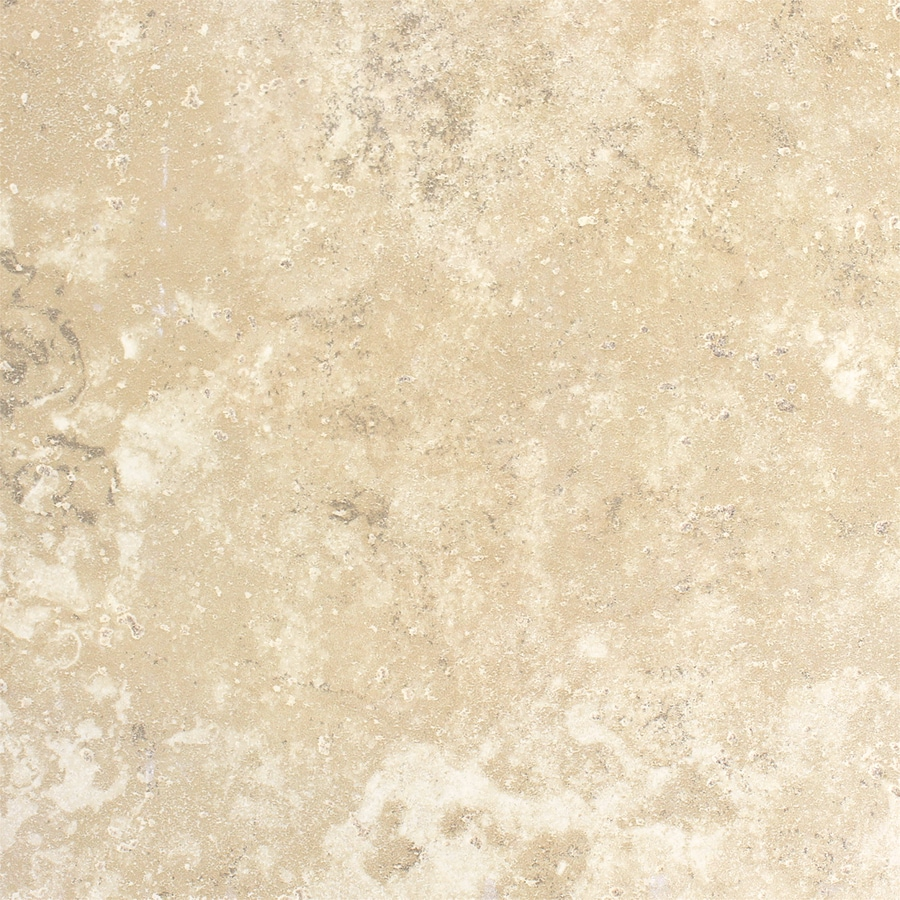 FLOORS 2000 Cometstone 36-Pack Snow Ball Porcelain Floor and Wall Tile (Common: 6-in x 6-in; Actual: 6.46-in x 6.46-in)
