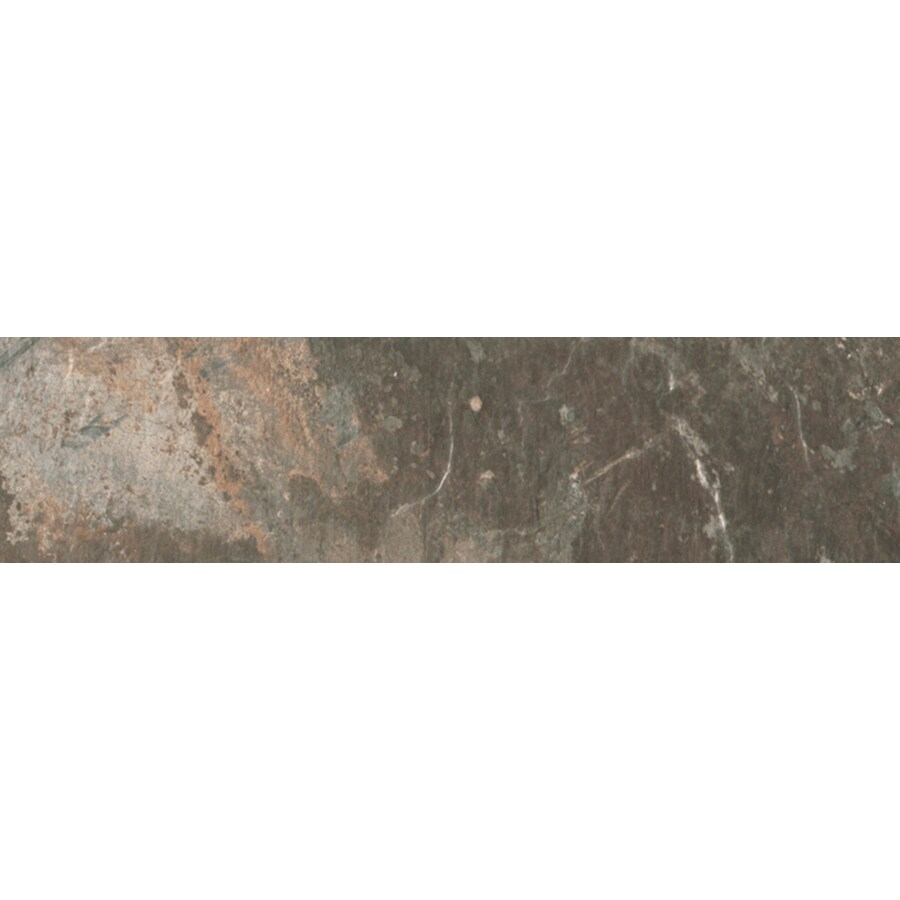FLOORS 2000 Afrika Cape Town Porcelain Bullnose Tile (Common: 3-in x 18-in; Actual: 3-in x 17.91-in)