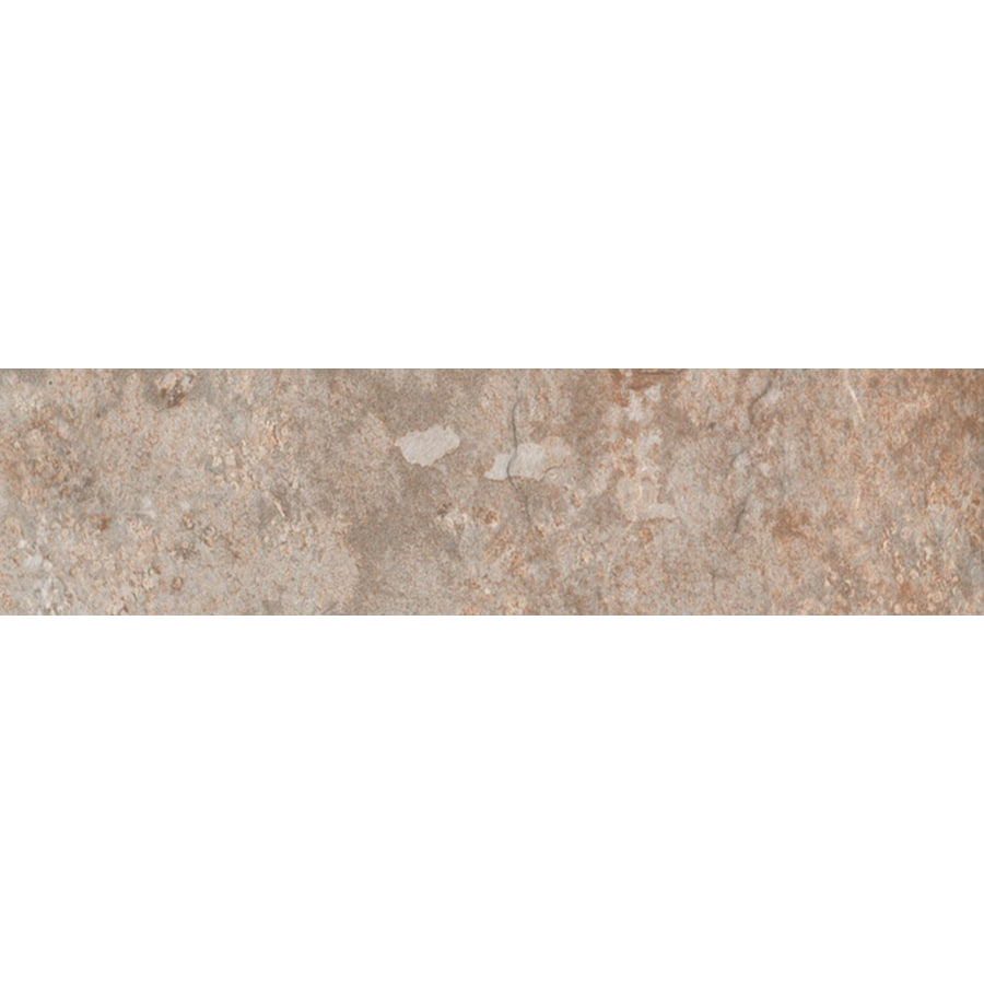 FLOORS 2000 Afrika Cairo Porcelain Bullnose Tile (Common: 3-in x 18-in; Actual: 3-in x 17.91-in)