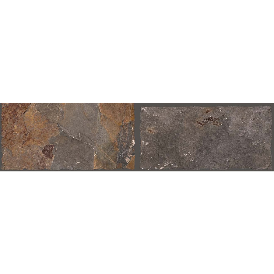 FLOORS 2000 Autumn Leaf Porcelain Bullnose Tile (Common: 3-in x 18-in; Actual: 3-in x 17.71-in)