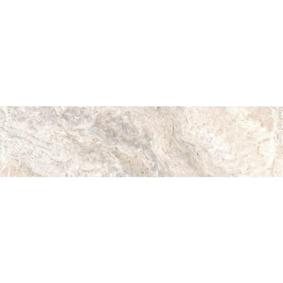 FLOORS 2000 Vitality Wind Porcelain Bullnose Tile (Common: 3-in x 18-in; Actual: 3-in x 17.91-in)
