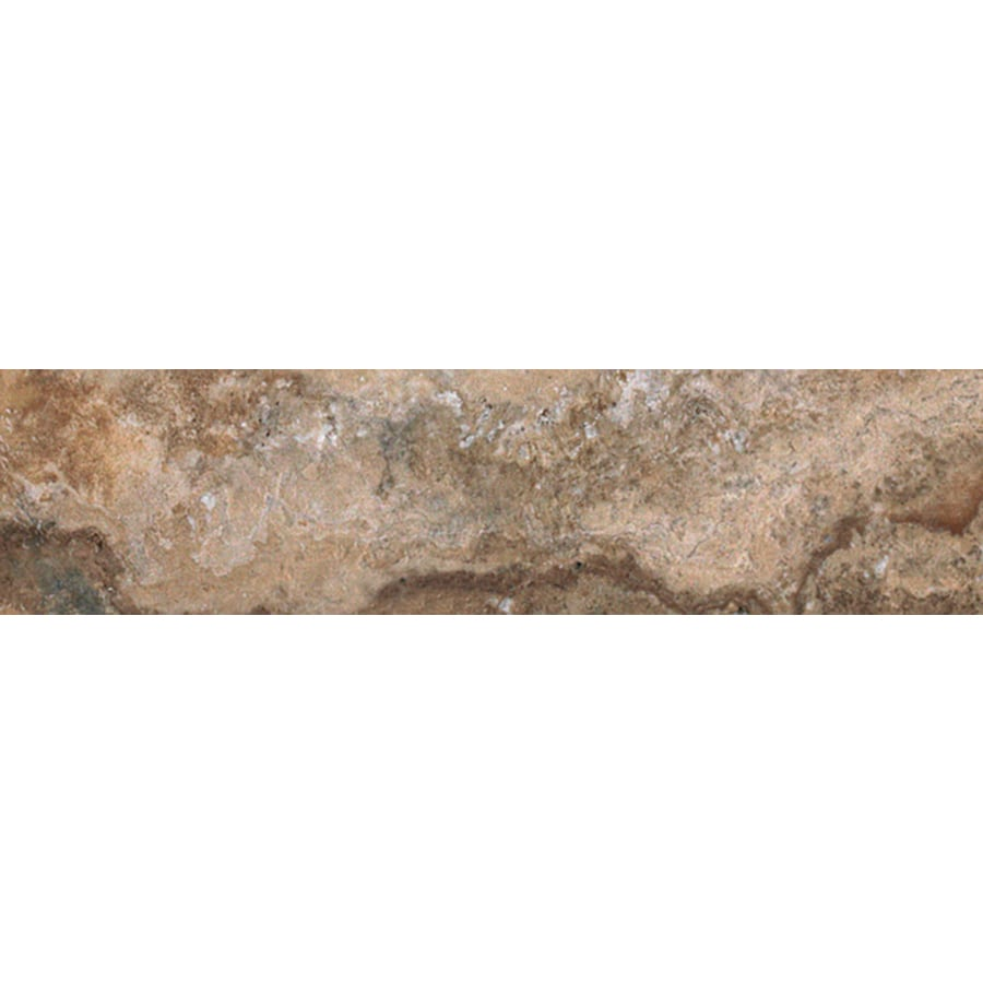 FLOORS 2000 Mansion Rich Porcelain Bullnose Tile (Common: 3-in x 18-in; Actual: 3-in x 17.91-in)