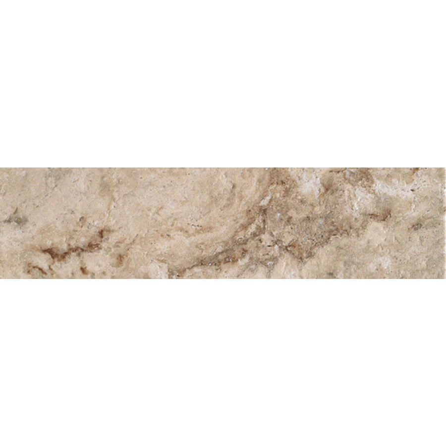 FLOORS 2000 Mansion Fine Porcelain Bullnose Tile (Common: 3-in x 12-in; Actual: 3-in x 11.92-in)