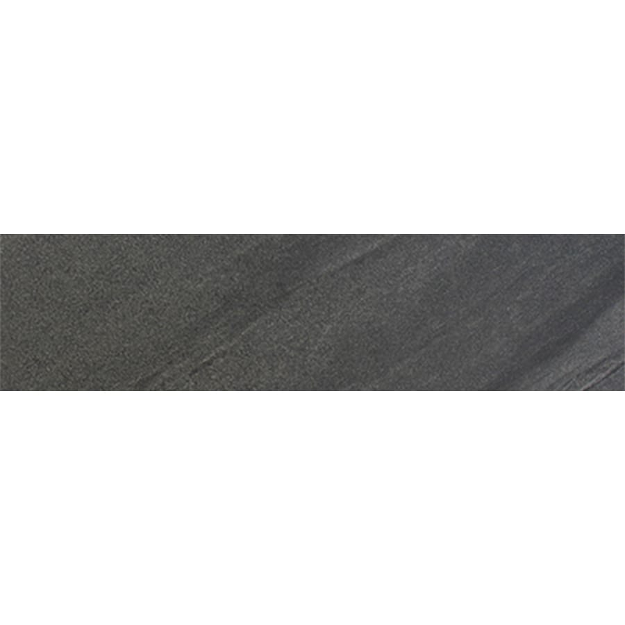 FLOORS 2000 Galaxy Nero Porcelain Bullnose Tile (Common: 3-in x 18-in; Actual: 3-in x 17.91-in)