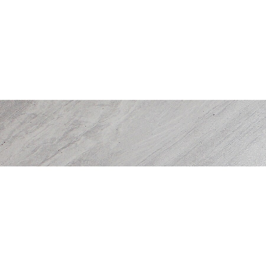 FLOORS 2000 Galaxy Silver Porcelain Bullnose Tile (Common: 3-in x 18-in; Actual: 3-in x 17.91-in)