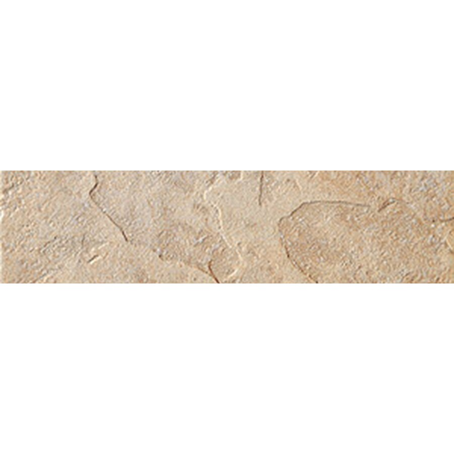 FLOORS 2000 Riverstone Brazos Porcelain Bullnose Tile (Common: 3-in x 13-in; Actual: 3-in x 13.11-in)