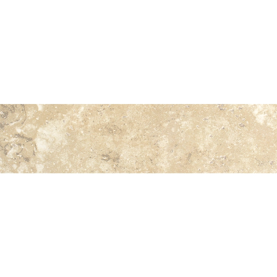 FLOORS 2000 Cometstone Snow Ball Porcelain Bullnose Tile (Common: 3-in x 13-in; Actual: 3-in x 13.11-in)