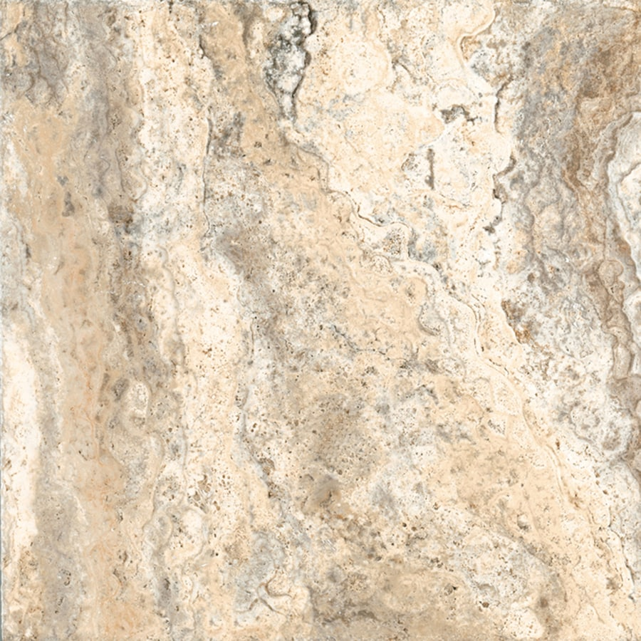 FLOORS 2000 Vitality 28-Pack Earth Porcelain Floor and Wall Tile (Common: 9-in x 9-in; Actual: 9.05-in x 9.05-in)