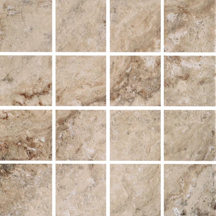 Floors 2000 Mansion Fine Porcelain Uniform Squares Mosaic Floor And Wall Tile Common 12