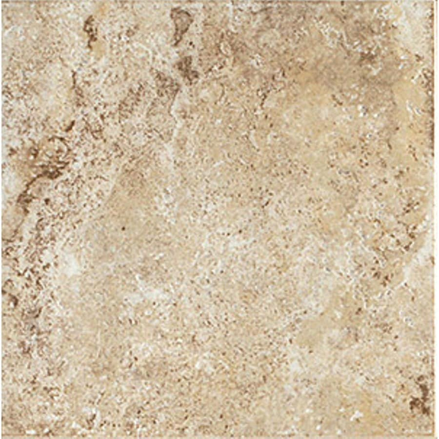 FLOORS 2000 Western Stone 13-Pack Canyon City Porcelain Floor and Wall Tile (Common: 13-in x 13-in; Actual: 13.11-in x 13.11-in)