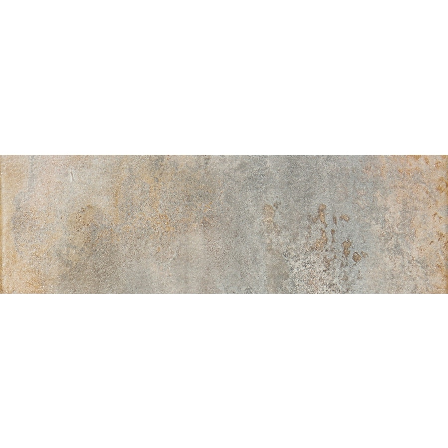 FLOORS 2000 Iron Grey Porcelain Bullnose Tile (Common: 3-in x 13-in; Actual: 3-in x 12.92-in)