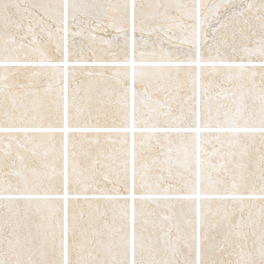 FLOORS 2000 Headline Herald Uniform Squares Mosaic Porcelain Floor and Wall Tile (Common: 12-in x 12-in; Actual: 11.92-in x 11.92-in)