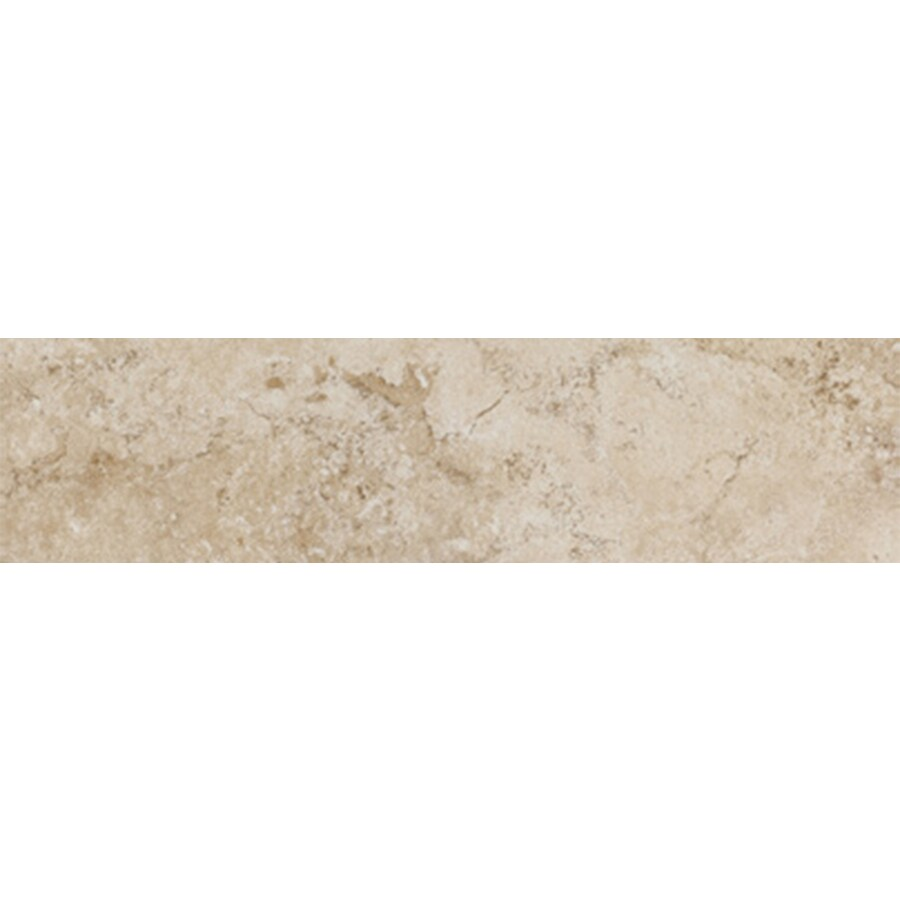 FLOORS 2000 Tiburstone Beige Porcelain Bullnose Tile (Common: 3-in x 18-in; Actual: 3-in x 17.91-in)