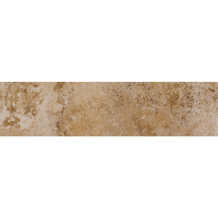 FLOORS 2000 Tiburstone Blend Porcelain Bullnose Tile (Common: 3-in x 18-in; Actual: 3-in x 17.91-in)