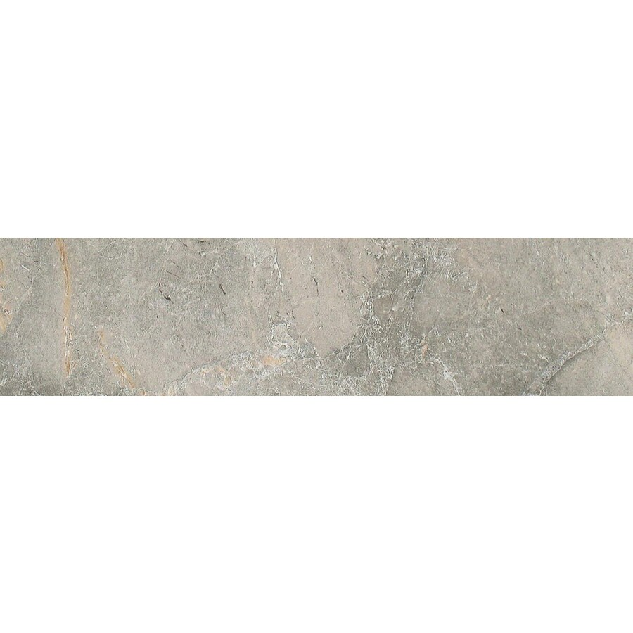 FLOORS 2000 Bari Gris Porcelain Bullnose Tile (Common: 3-in x 18-in; Actual: 3-in x 17.72-in)