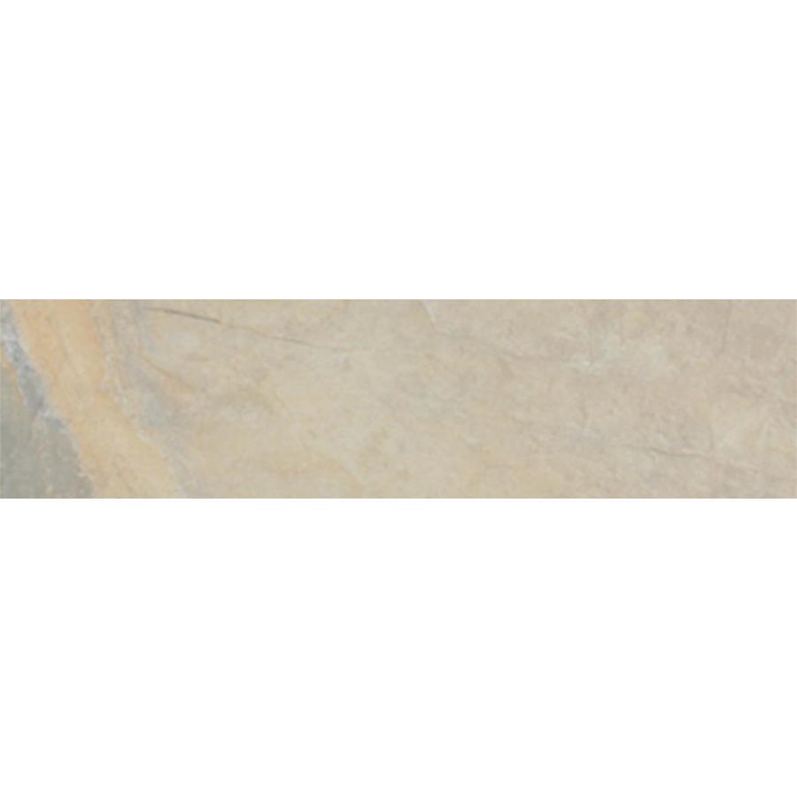 FLOORS 2000 Keystone Cream Porcelain Bullnose Tile (Common: 3-in x 13-in; Actual: 3-in x 13-in)