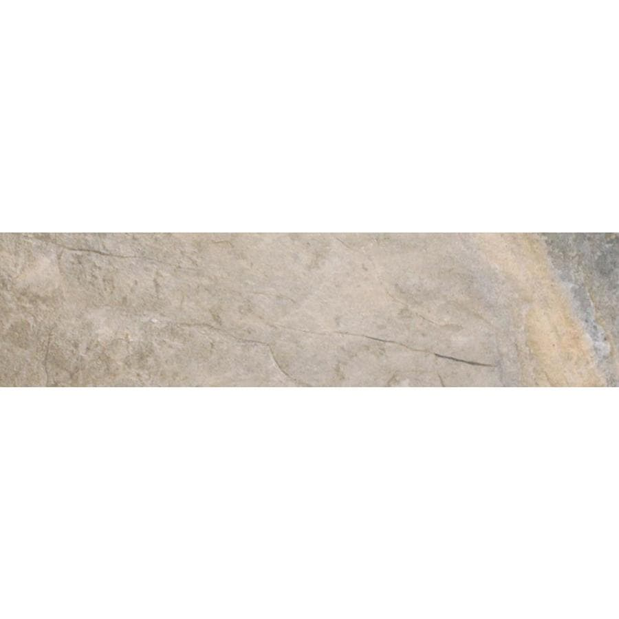 FLOORS 2000 Keystone Grey Porcelain Bullnose Tile (Common: 3-in x 13-in; Actual: 3-in x 13-in)
