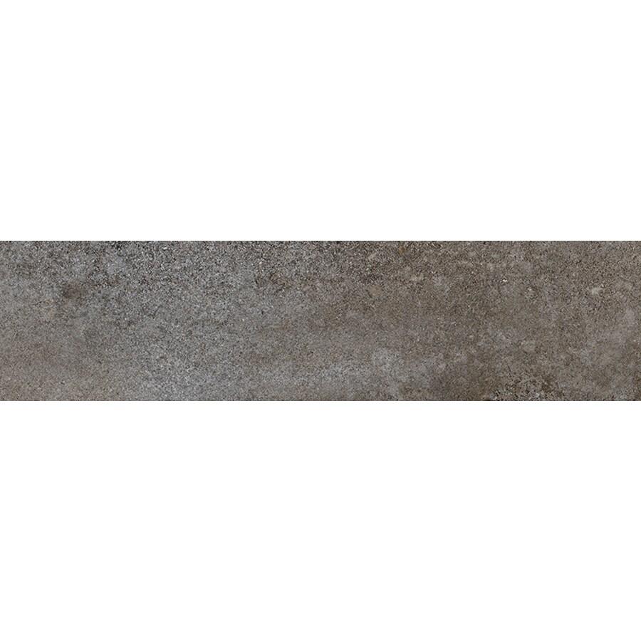 FLOORS 2000 Bridgeport Winter Porcelain Bullnose Tile (Common: 3-in x 12-in; Actual: 3-in x 11.81-in)