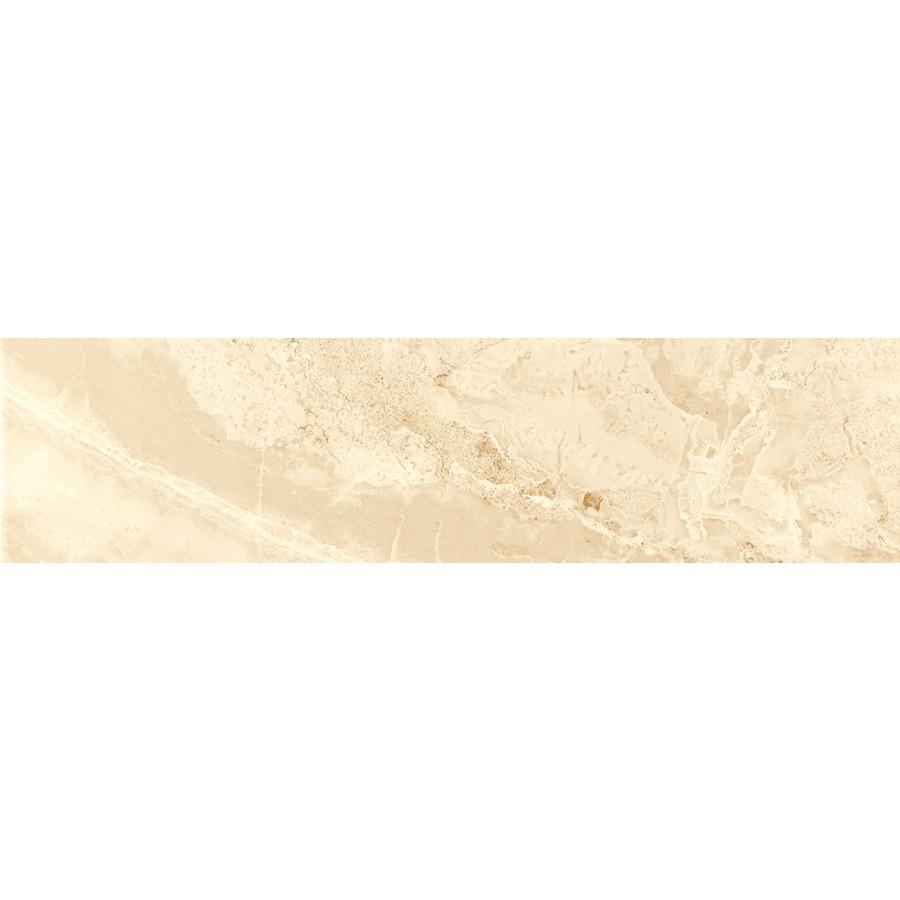 FLOORS 2000 Aura Matte Beige Porcelain Bullnose Tile (Common: 3-in x 12-in; Actual: 3-in x 11.81-in)