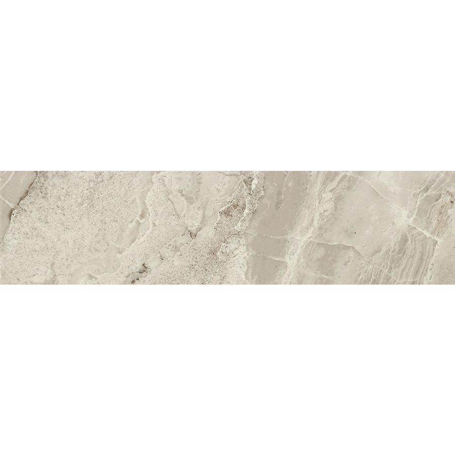 FLOORS 2000 Aura Matte Gris Porcelain Bullnose Tile (Common: 3-in x 18-in; Actual: 3-in x 17.73-in)