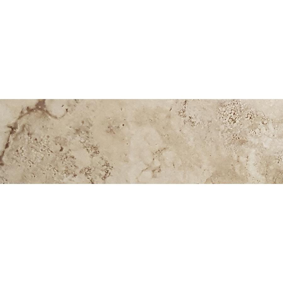 FLOORS 2000 Vesta Ivory Porcelain Bullnose Tile (Common: 3-in x 13-in; Actual: 3-in x 13.11-in)
