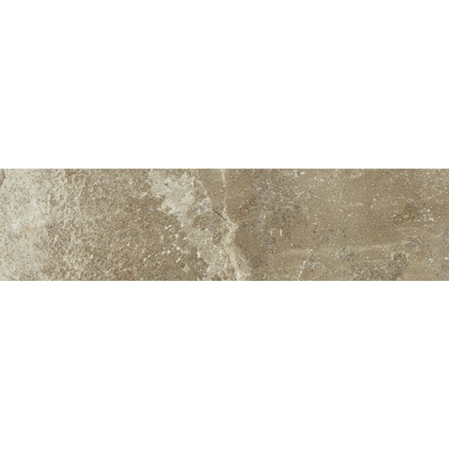 FLOORS 2000 Santorini Beige Porcelain Bullnose Tile (Common: 3-in X 18-in; Actual: 17.73-in x 3-in)