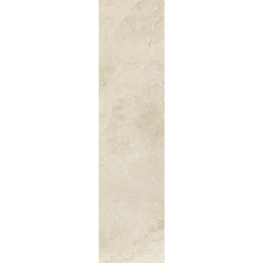 FLOORS 2000 Breschia Avorio Porcelain Bullnose Tile (Common: 3-in X 12-in; Actual: 11.75-in x 3-in)