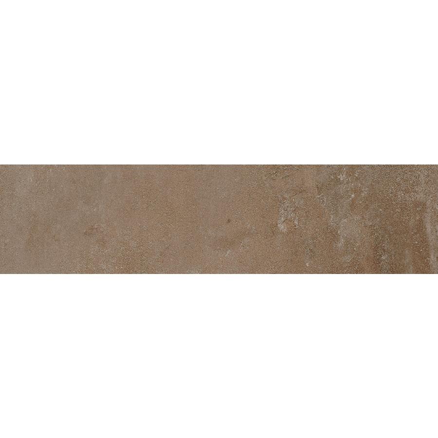 FLOORS 2000 Metropolitan Brown Porcelain Bullnose Tile (Common: 3-in X 12-in; Actual: 11.81-in x 3-in)