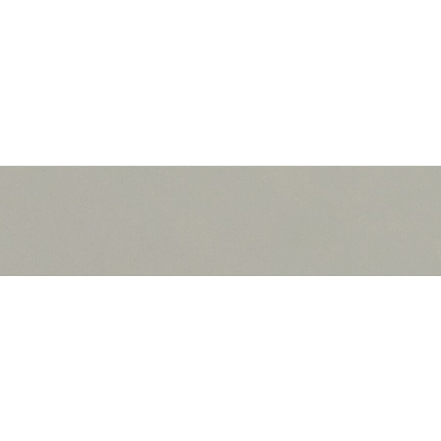 FLOORS 2000 Urban Silver Porcelain Bullnose Tile (Common: 3-in X 12-in; Actual: 12-in x 3-in)