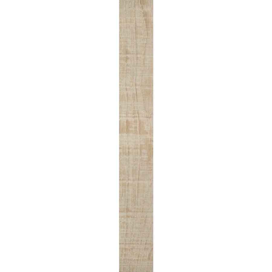 FLOORS 2000 Legno Pietra Beige Wood Look Porcelain Bullnose Tile (Common: 3-in X 24-in; Actual: 23.62-in x 3-in)