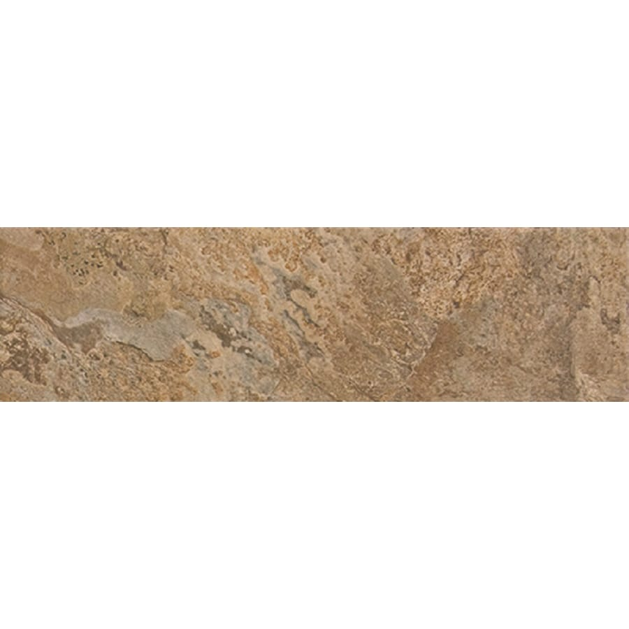 FLOORS 2000 Rajasthan Nute Porcelain Bullnose Tile (Common: 3-in X 16-in; Actual: 15.75-in x 3-in)