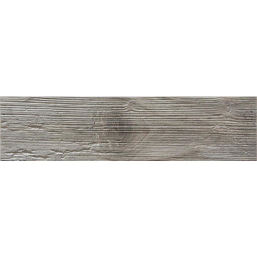 FLOORS 2000 Decking Grey Wood Look Porcelain Bullnose Tile (Common: 3-in X 13-in; Actual: 13.38-in x 3-in)