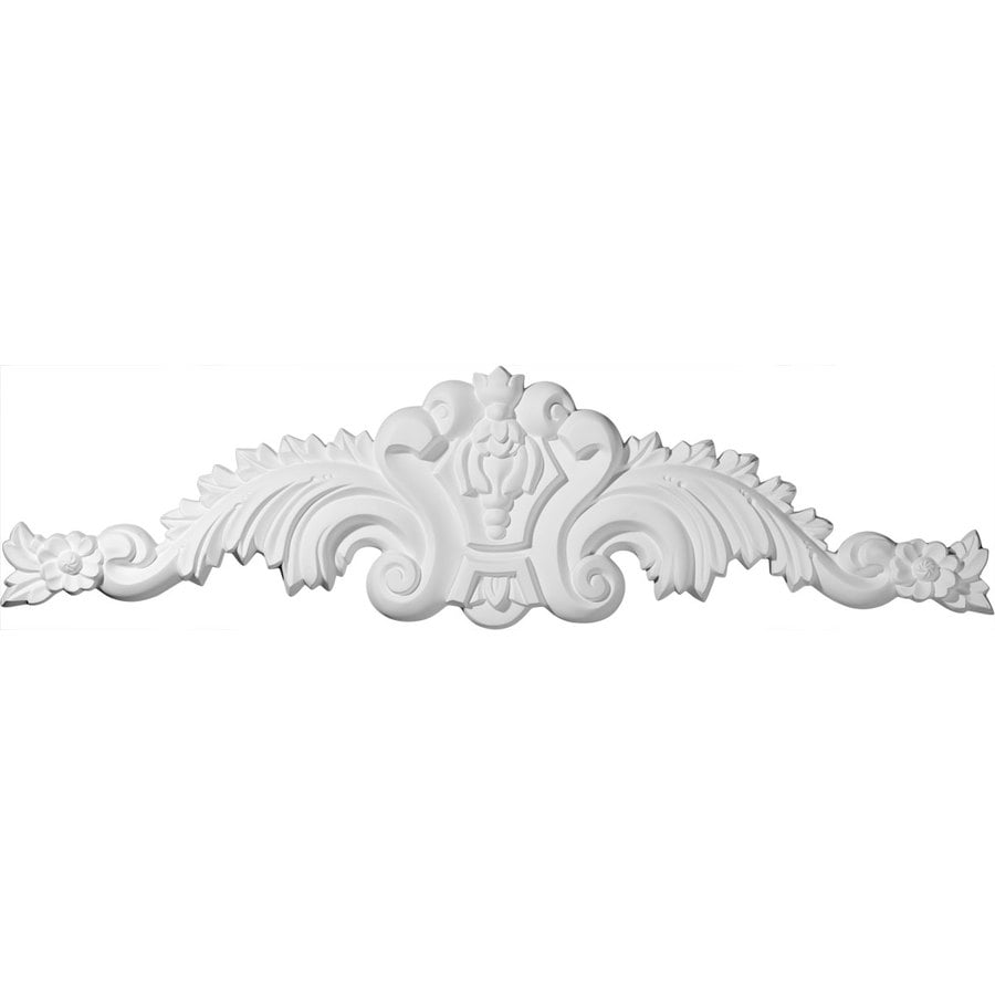 Ekena Millwork 36.75-in x 9.75-in Scroll Urethane Applique