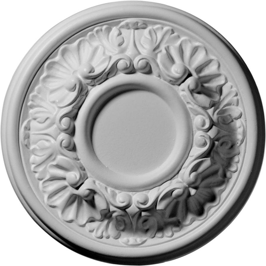 Shop Ekena Millwork Odessa 7.5-in x 7.5-in Polyurethane Ceiling Medallion at Lowes.com
