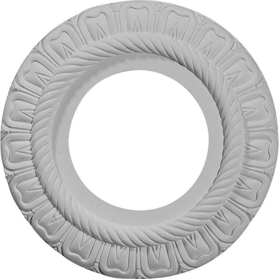 Ekena Millwork Claremont 9-in x 9-in Polyurethane Ceiling Medallion