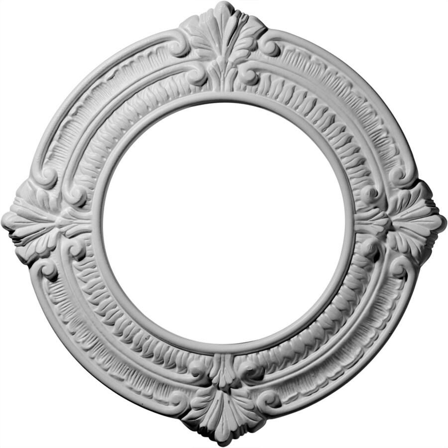 Ekena Millwork Benson 11.125-in x 11.125-in Polyurethane Ceiling Medallion