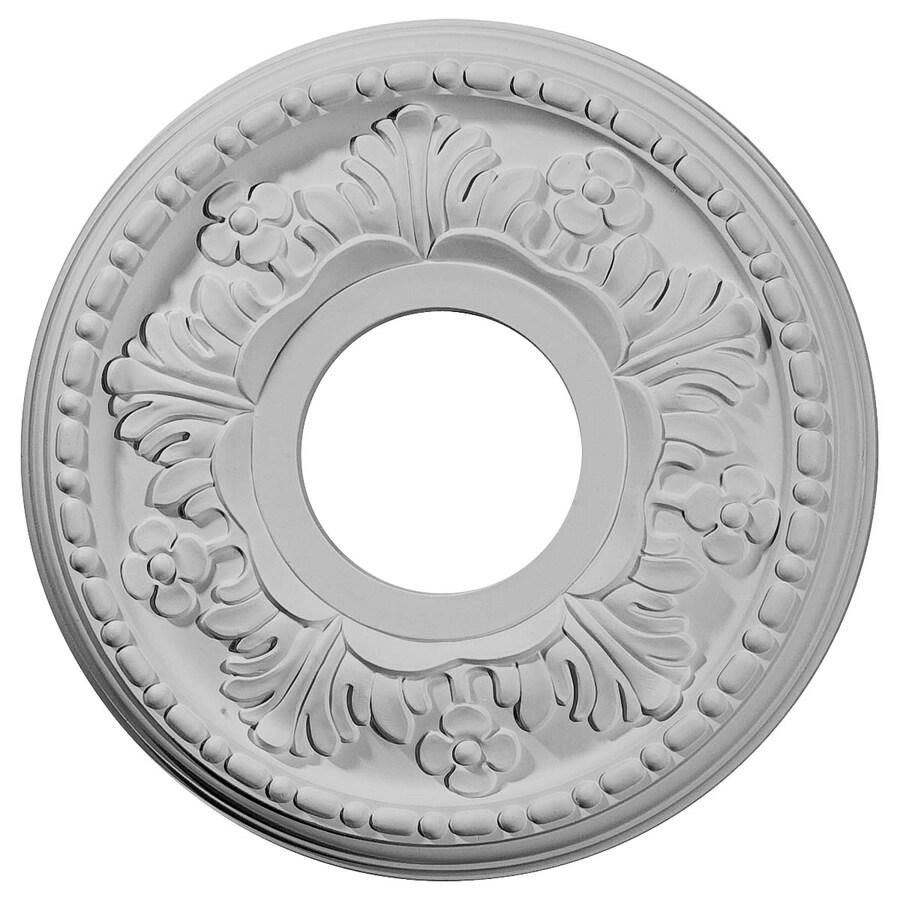 Ekena Millwork Helene 11.875-in x 11.875-in Polyurethane Ceiling Medallion