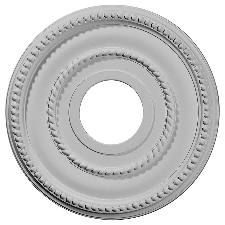 Ekena Millwork Valeriano 12.125-in x 12.125-in Polyurethane Ceiling Medallion
