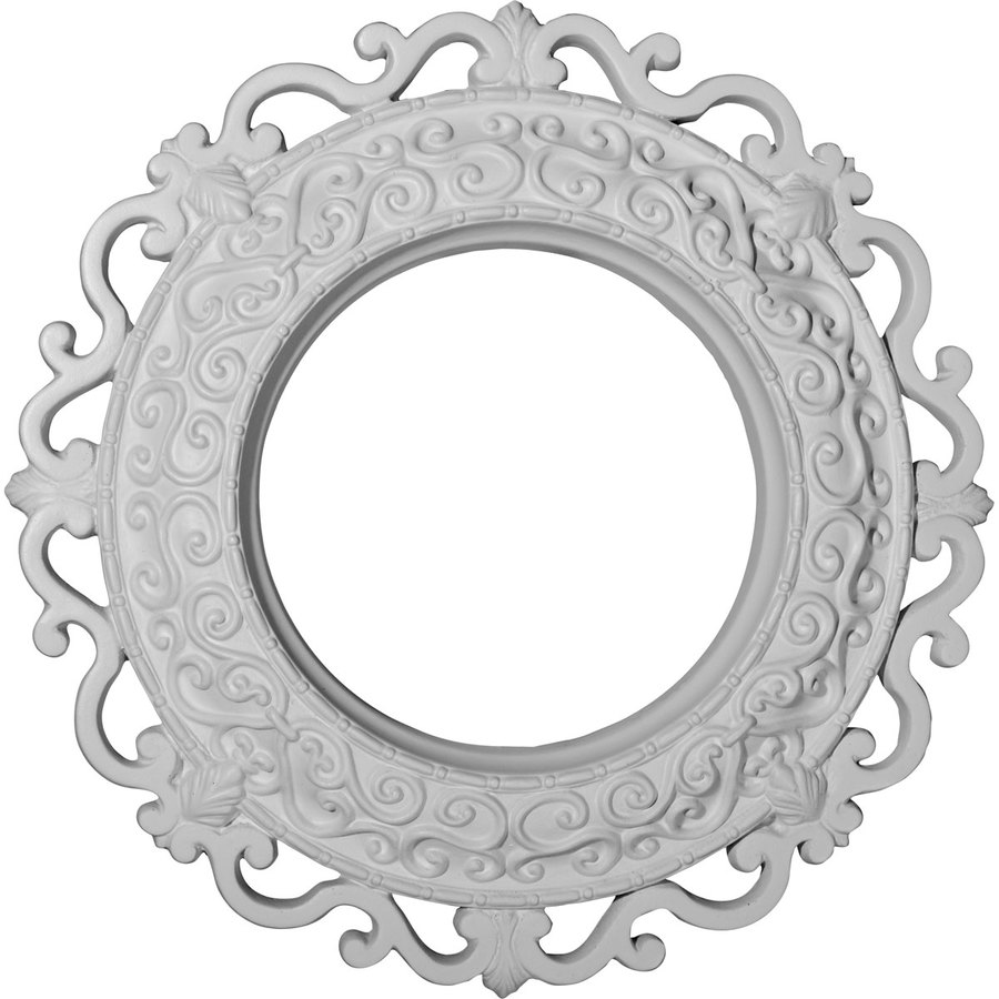 Ekena Millwork Orrington 13.25-in x 13.25-in Polyurethane Ceiling Medallion