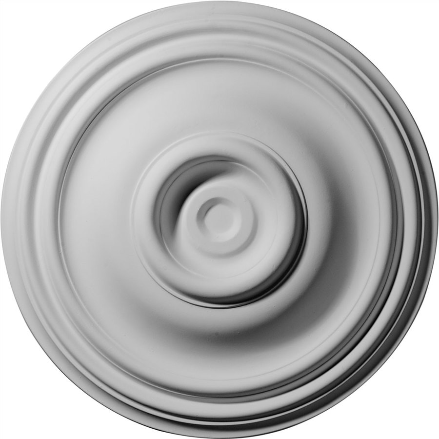 Ekena Millwork Traditional 14.75-in x 14.75-in Polyurethane Ceiling Medallion