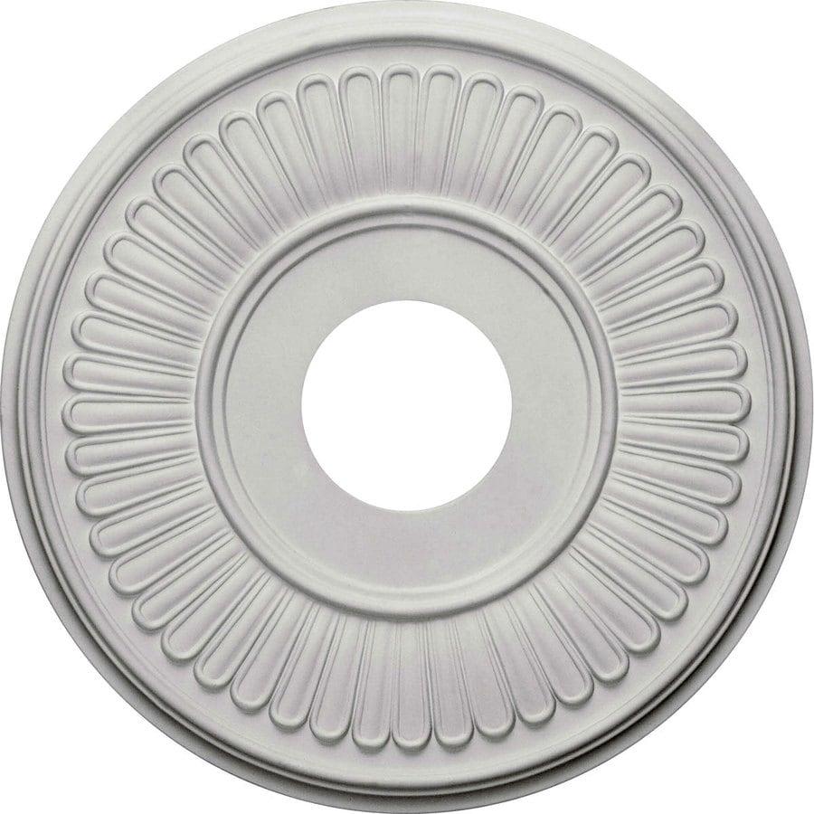 Ekena Millwork Berkshire 15.75-in x 15.75-in Polyurethane Ceiling Medallion