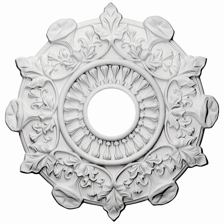 Ekena Millwork Preston 17.5-in x 17.5-in Polyurethane Ceiling Medallion