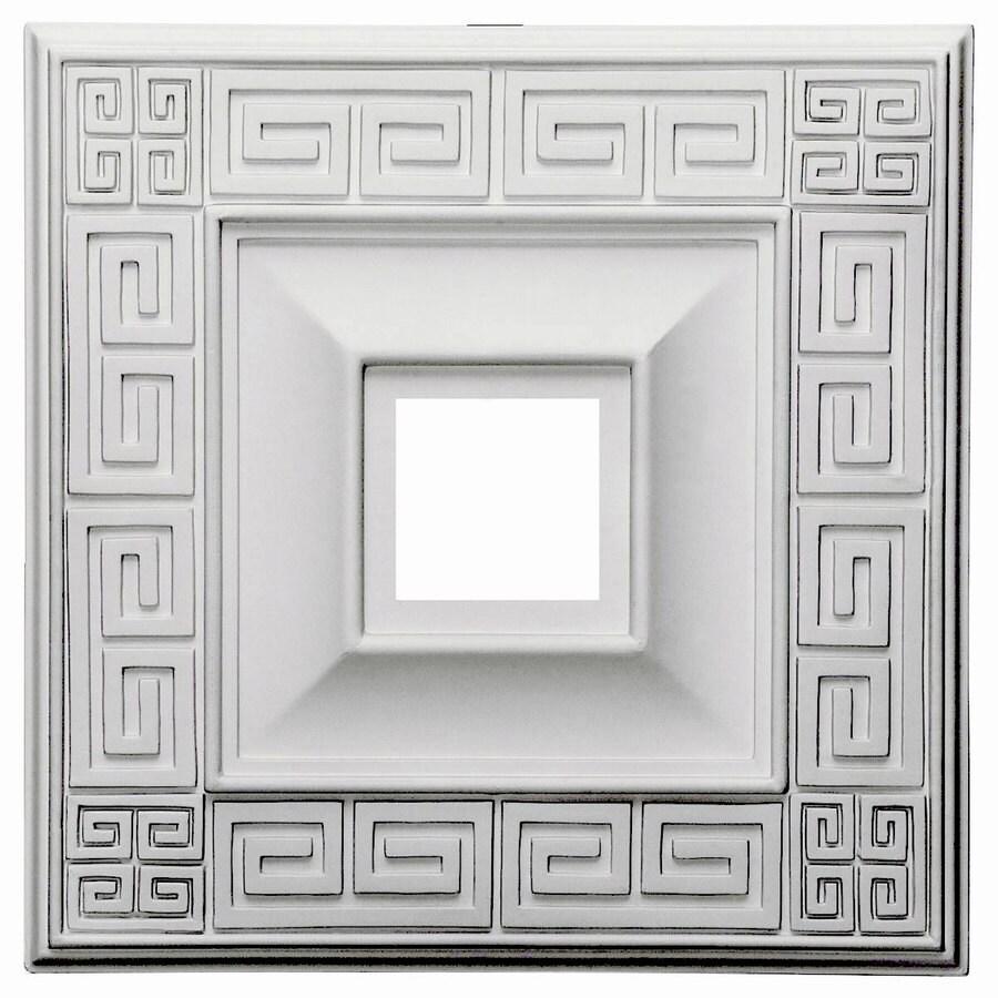 Ekena Millwork Eris 18-in x 18-in Polyurethane Ceiling Medallion