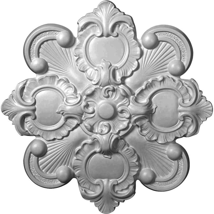 Ekena Millwork Katheryn 18.125-in x 18.125-in Polyurethane Ceiling Medallion