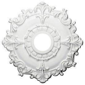 Ekena Millwork Riley 18 In X Primed Polyurethane Ceiling Medallion