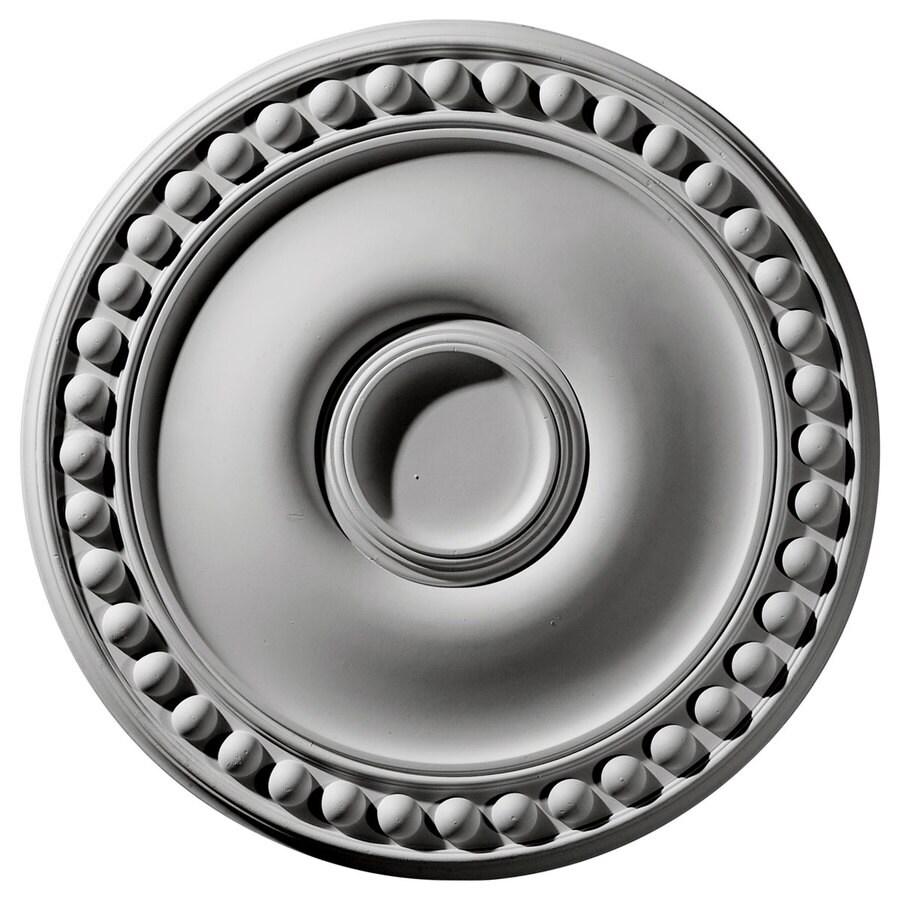 Ekena Millwork Foster 19.125-in x 19.125-in Polyurethane Ceiling Medallion